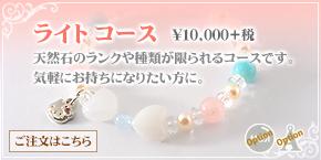ブレスレット ライトコース ¥10500
